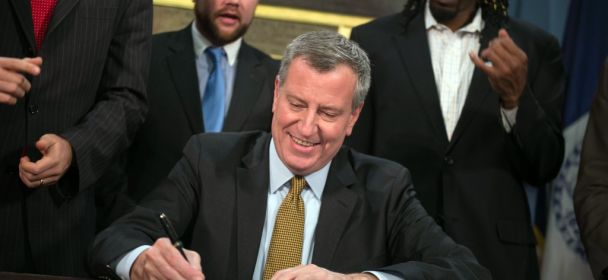 Mayor Signs Bills into Law