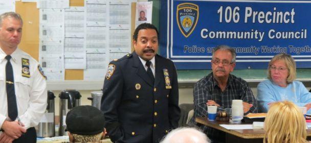 Crime Dips in 106th Precinct, but Schiff not Satisfied