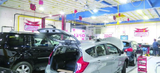 Re-upping in Ozone Park: Sonny's Auto Collision makes major investment, commits to current location