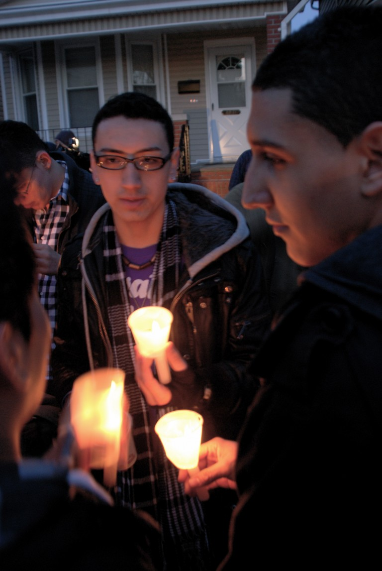 Woodhaven Mourns Hate: Community Remembers Anthony Collao at Candlelight Vigil