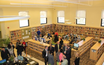 'Tag Team Effort' Helps Renovate Ridgewood Library