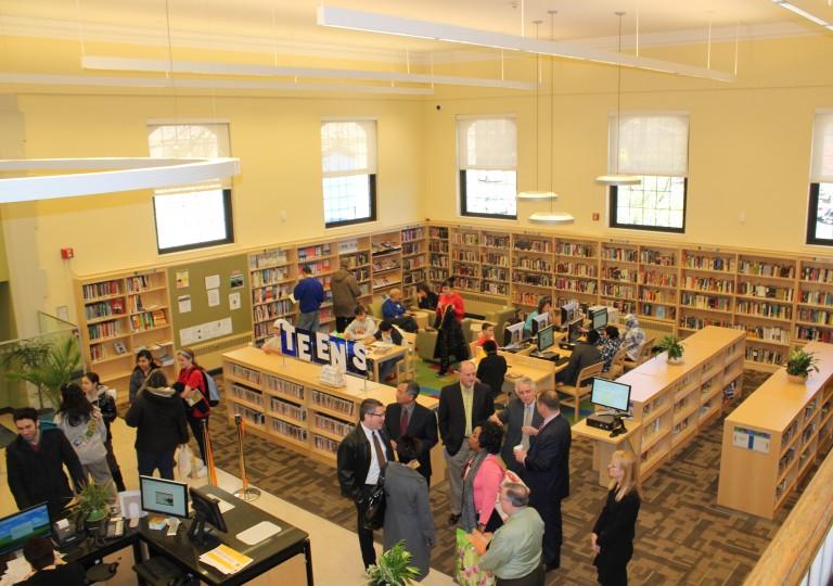 'Tag Team Effort' Helps Renovate Ridgewood Library