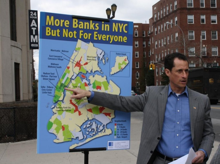 Study Shows Bank Avoid Queens