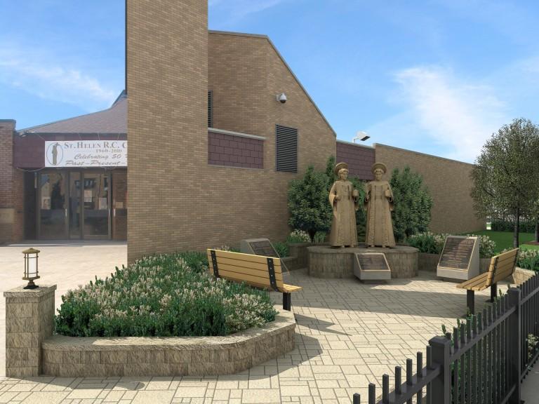 Shrine Planned for St. Helen's: Society Fulfills Founder's Mission