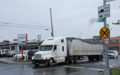 Maspeth Plan to Curb Truck Traffic Gets Underway