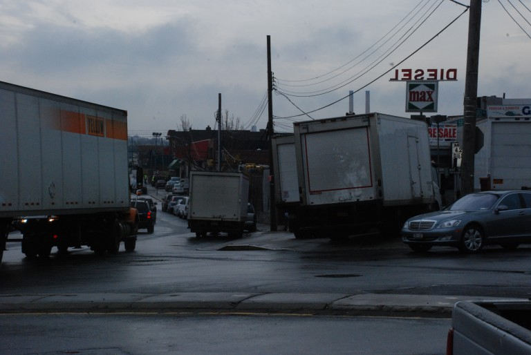 Traffic Changes in Maspeth Bypass Continue