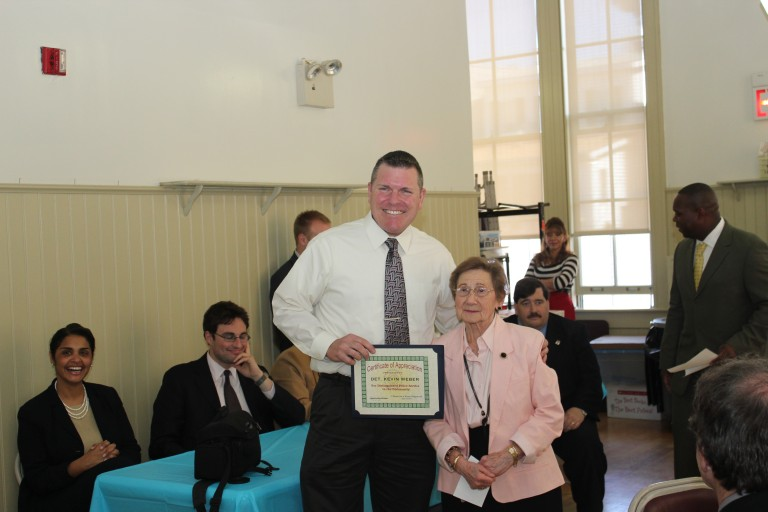 Detective Weber Honored at Retirement Ceremony: Served the 104th Precinct for Over Two Decades