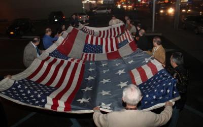 9/11 Flag Inspires Rotary Club Members