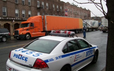Truck Enforcement Begins on Grand Ave.