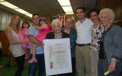 Ulrich Honors Local Senior's 90th Birthday