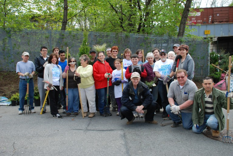 Pitching In For Neighborhood Causes