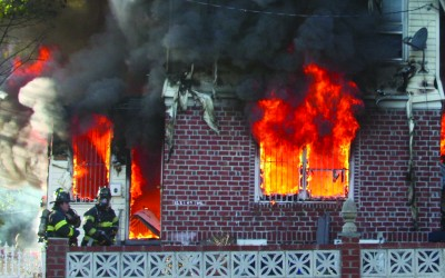 South Ozone Park Fire Destroys Home