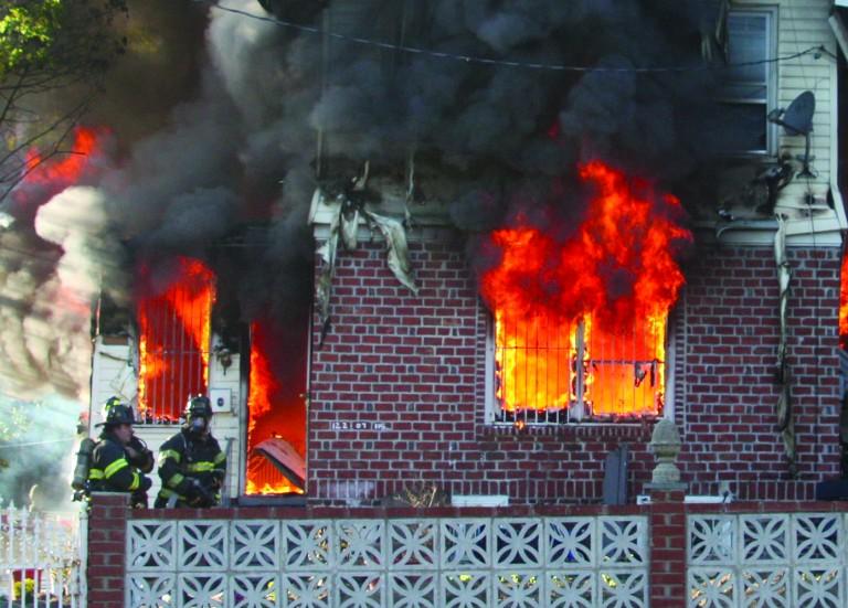 South Ozone Park Fire Destroys Home