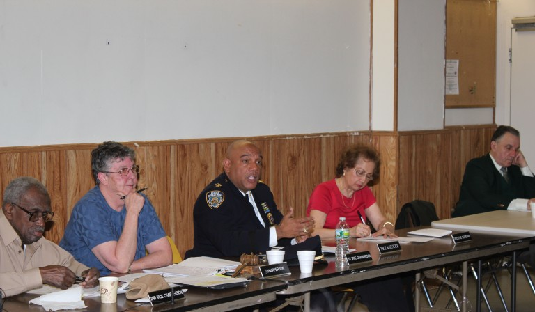 Aqueduct Security Tops Residents' Concerns
