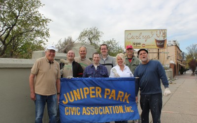 Juniper Park Civic Association Tackles Eliot Avenue Eyesore