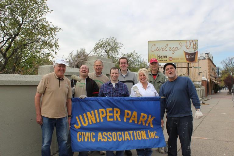 Juniper Park Civic Association Tackles Eliot Avenue Eyesore