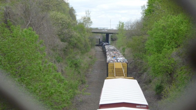 Residents' Patience Running Out Over Trash Trains
