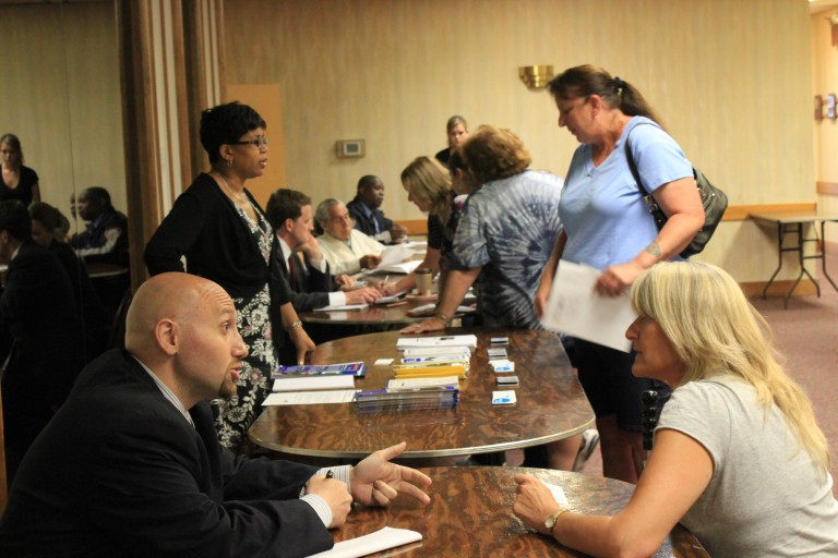 On Hold: Residents Meet With City Agencies, 311 Reps