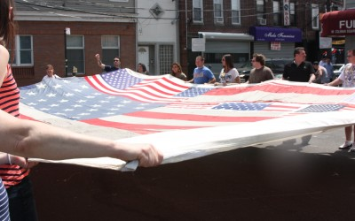 9/11 Flag Visits Coleman Square