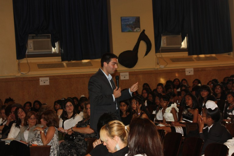 P.S. 100 Holds Fifth Grade Award Ceremony