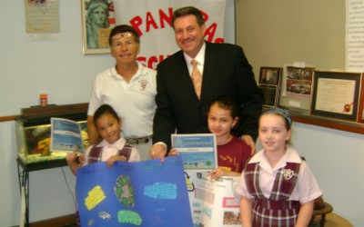Addabbo Honors St. Pancras Students