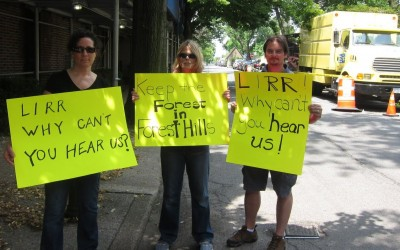 Forest Hills Residents Call for More Communication with Neighbor LIRR