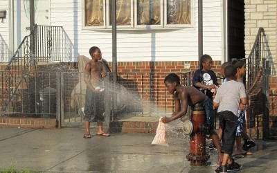 Residents Find Ways to Beat The Heat