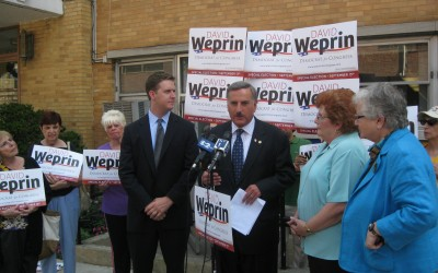 Weprin Refocuses Debate on Social Services