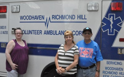Woodhaven Volunteer Ambulance Search for Funds