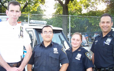 104th and 112th Precincts Celebrate Night Out Against Crime