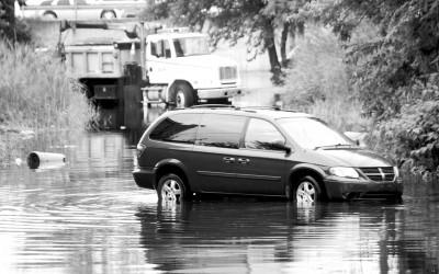 Record Rainfall Hits NYC