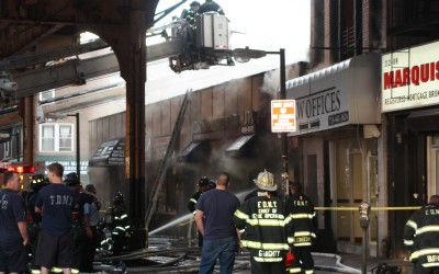 Cleanup Begins After Jamaica Ave Fire