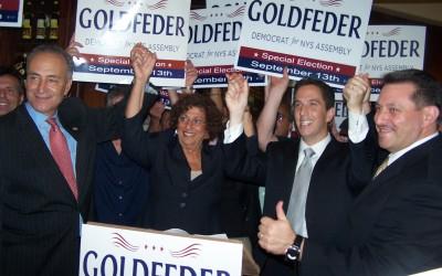 Senator Schumer Endorses Phil Goldfeder
