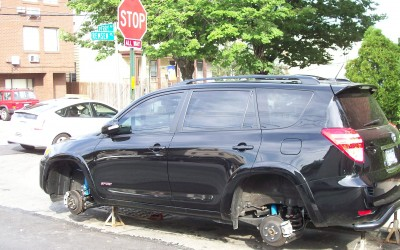 Car Vandals Hit Maspeth, Middle Village