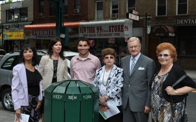 Pitching In to Keep Jamaica Ave Litter Free