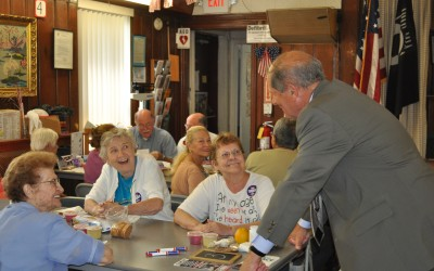 Turner, Deacy Vow to Protect Senior Programs