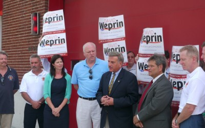 Weprin Scores Key Endorsements in Congressional Race