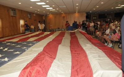 National 9/11 Flag Visits Breezy Point