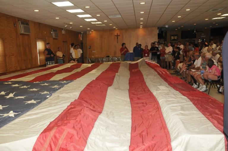 National 9/11 Flag Visits Breezy Point