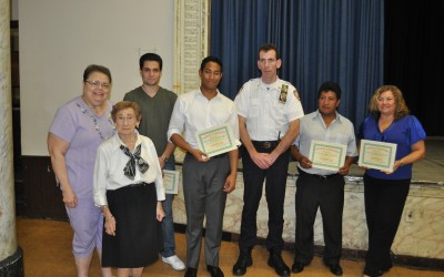 Ridgewood Residents Honored at Civic Meeting