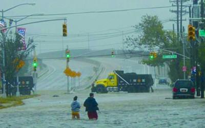 Tropical Storm Irene Hits Queens