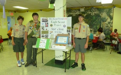 Scouts for Sight and Hearing