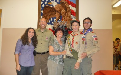 Celebrating Three Generations of Eagle Scouting