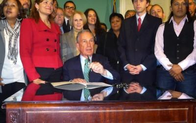 Bloomberg Signs Bill Limiting Deportations