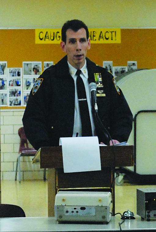 Community Board 5 Talks Traffic