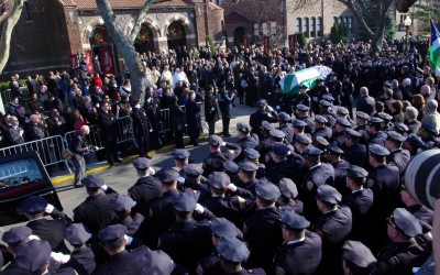Thousands Mourn Fallen Officer