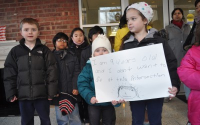Students, Parents Ask for a Safer Route to School