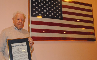 After 60-plus Years, Local War Hero Gets His Due
