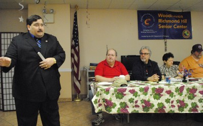 Woodhaven: In Favor of Reactivating Train Line