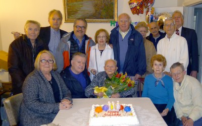 Carl Berner Celebrates 110th Birthday